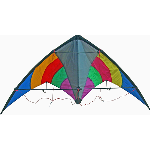 Rainbow Stunt Kite Enhanced